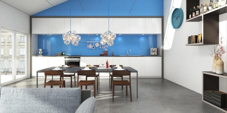 Betonboden für jeden Wohnbereich geeignet - Firma Riedl Natursteine in Künzing