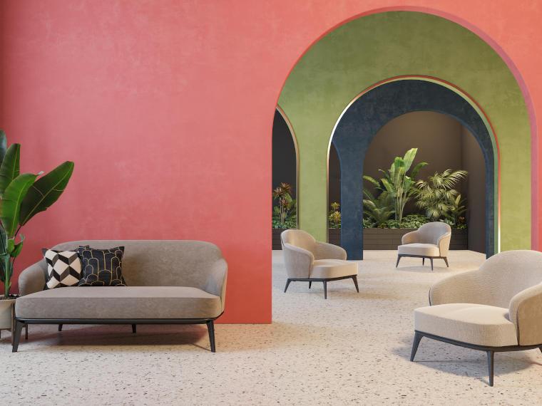 Terrazzoboden, hervorragend für den Wohnbereich geeignet - Firma Riedl Natursteine in Künzing