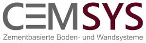 Logo Cemsys, zementbasierte Boden- und Wandsysteme