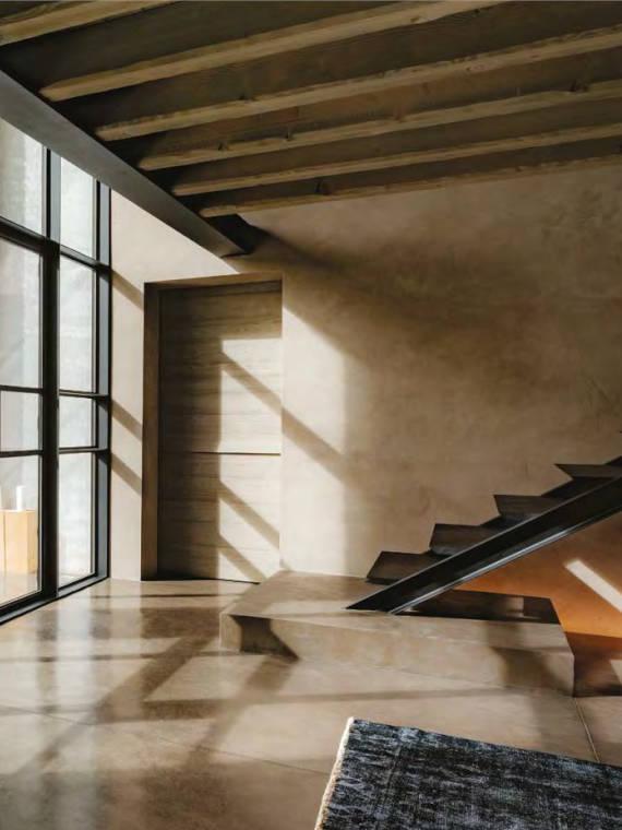 Edler Betonboden im Wohnbereich - Firma Riedl Natursteine in Künzing